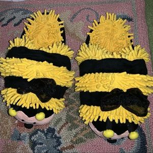 Shoes - Bumble bee slippers!